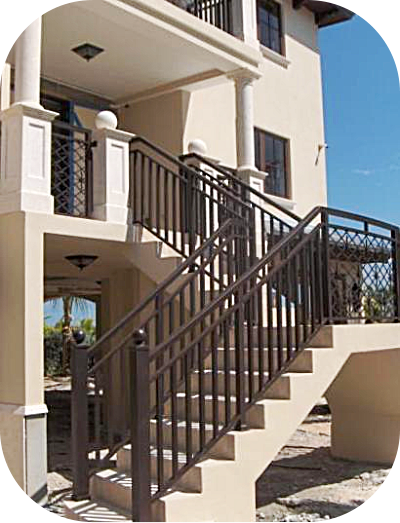 Exterior Stair Railings – Avion Metal Works of Florida