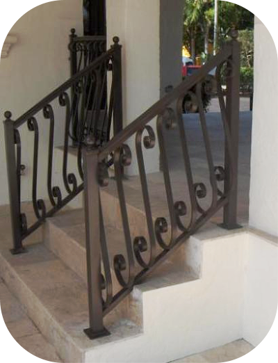Exterior Stair Railings Avion Metal Works Of Florida
