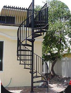 exterior stair railings 17 230x300