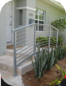 exterior stair railings 31 230x300