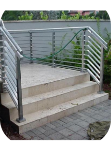 exterior stair railings 32 230x300