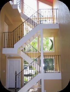 railings 202