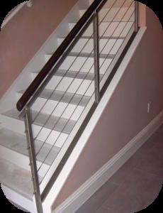 railings 204