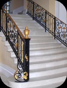 railings 206