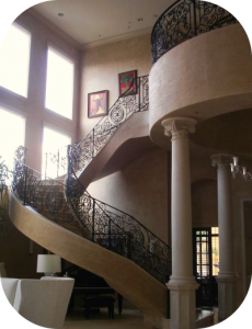 railings 210