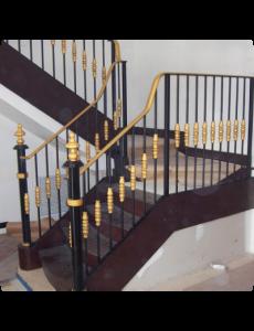 railings 212