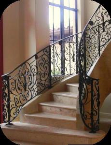 railings 214