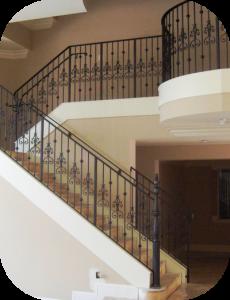 railings 215