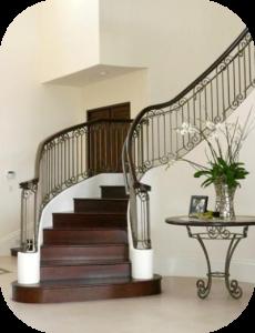 railings 216