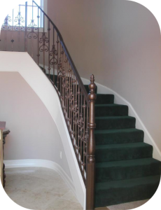 railings 218