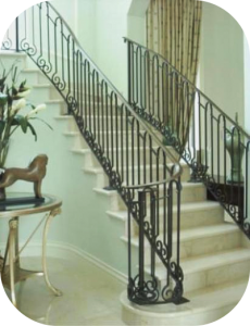 railings 226